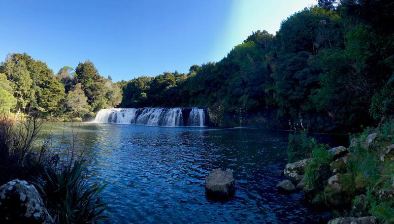 Wharepuke Falls along the way