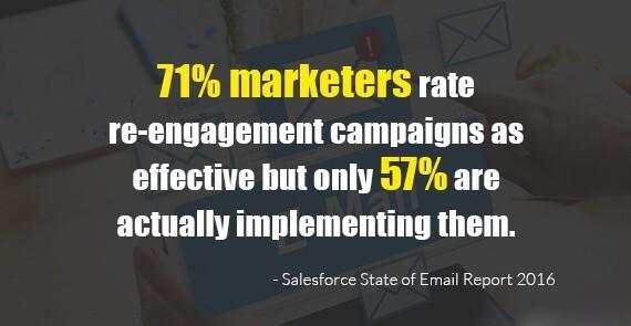 Re-engagement statistics
