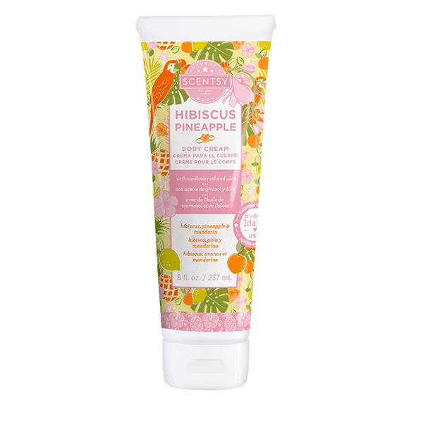 Hibiscus Pineapple Body Cream
