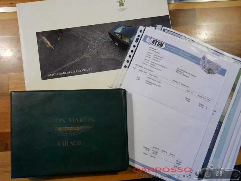 Aston Martin Virage 5.3 V8 RHD 1 Of 411 afbeelding 13