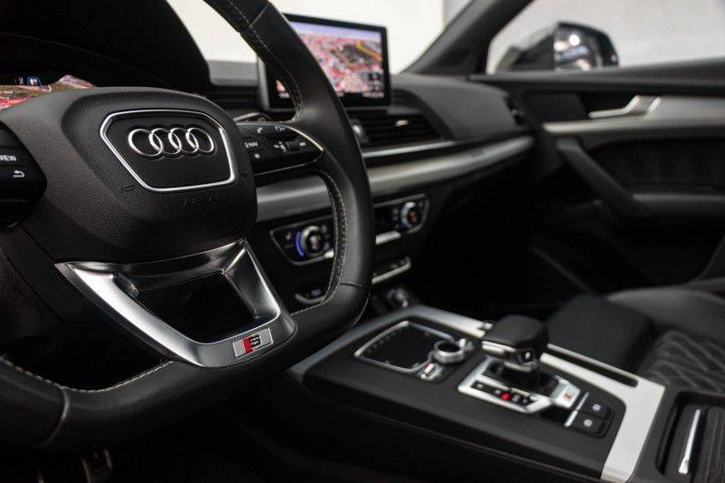 "Audi SQ5 3.0 TDI 347pk Quattro Black Edition Panoramadak Luchtvering Valconaleder B&O Keyless ACC Navi-High Matrix Camera 21""Performance Pdc Verlengde fabrieksgarantie afbeelding 18"