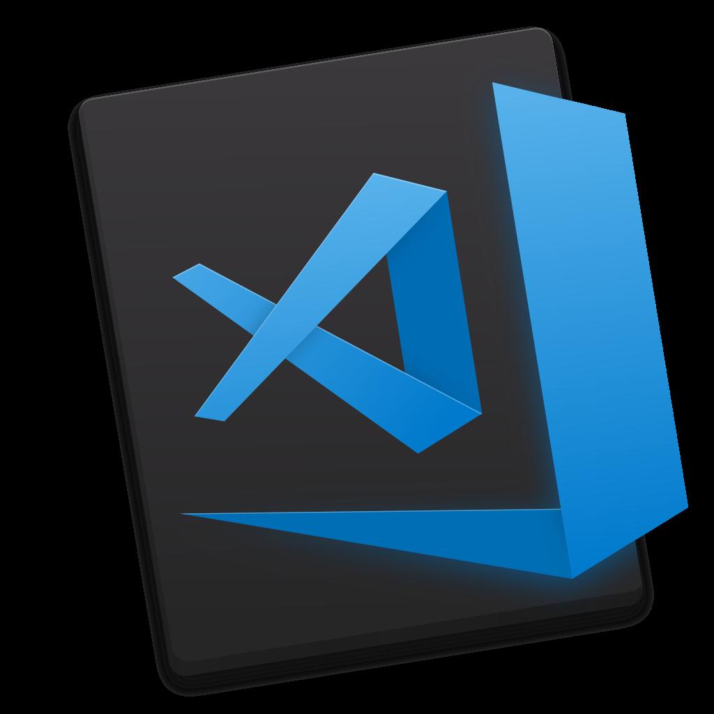 Visual Studio Code's logo.