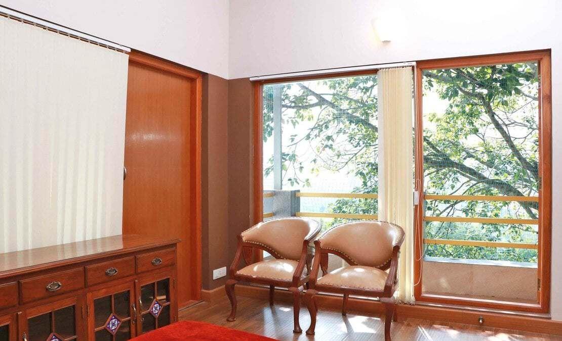Jade Greens House Kattabettu French doors