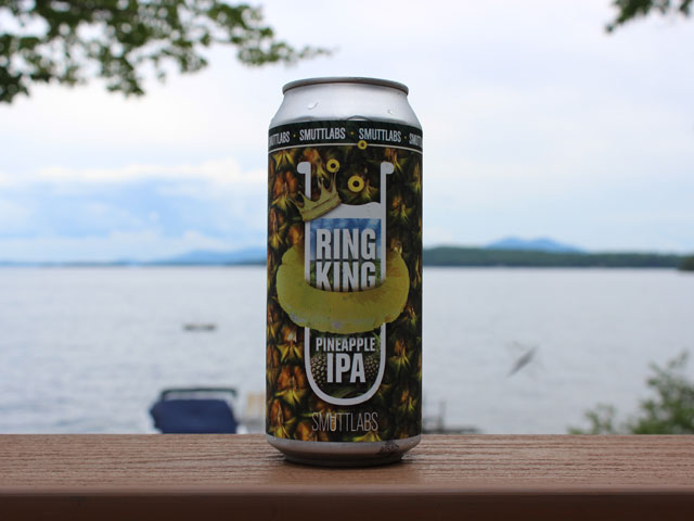 Ring King, an IPA brewed by Smuttlabs Brewery & Kitchen