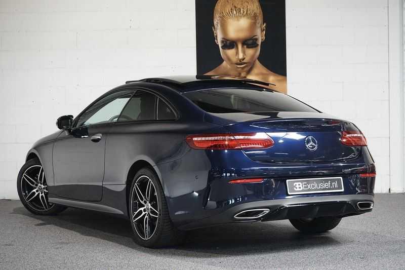 Mercedes-Benz E-Klasse Coupé 200 Premium Plus AMG, Pano, Burmester afbeelding 6