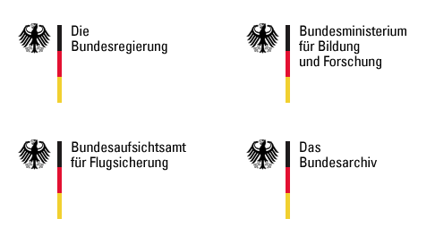 Logos used by the German Federal Government