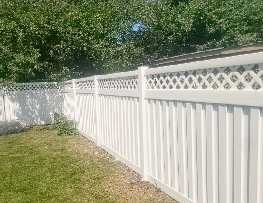 Potwin Construction fencing remodel