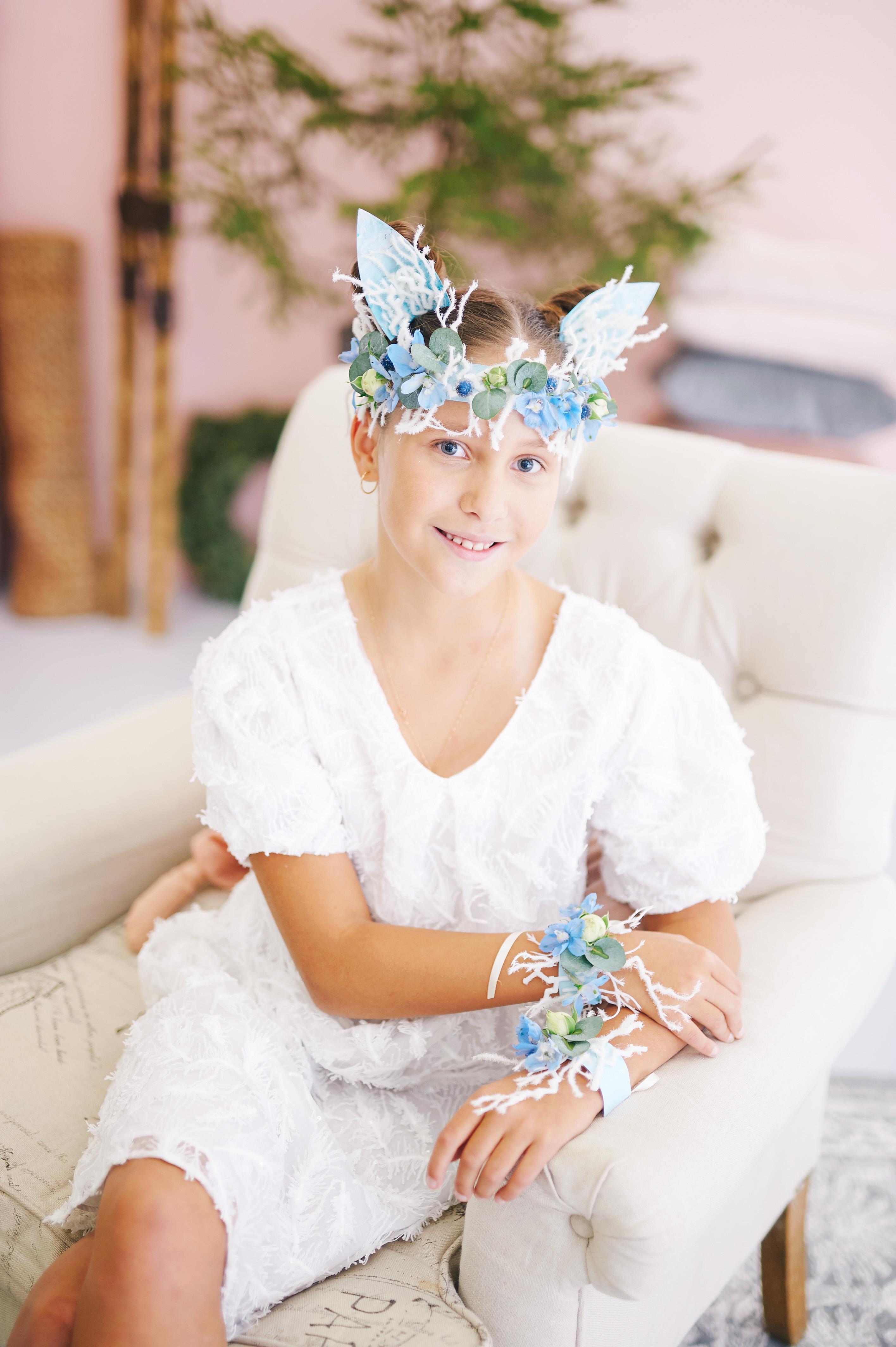 детский курсы флористики Роза Азора