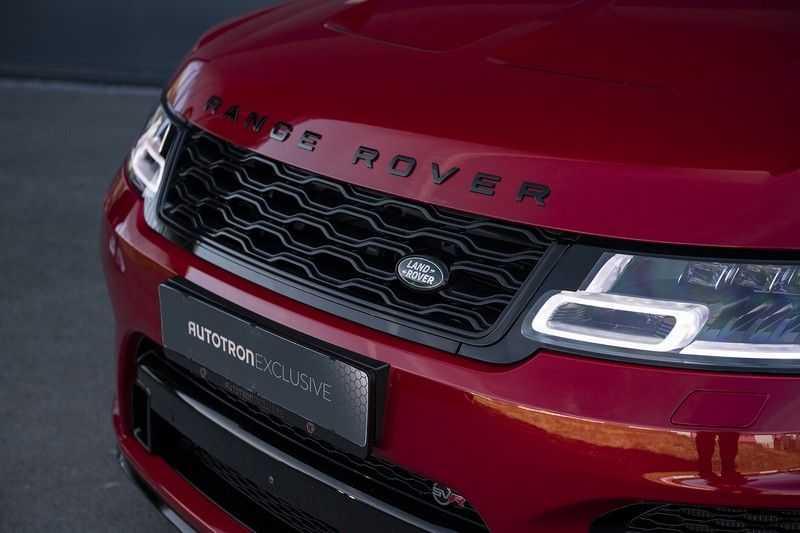 Land Rover Range Rover Sport SVR 5.0 V8 SC Meridian Reference Audio + Head Up + 360 Camera + Gekoelde/Verwarmde voorstoelen + Verwarmde  Achterbank + Carbon Motorkap Met Luchthappers + Ambianceverlichting afbeelding 2