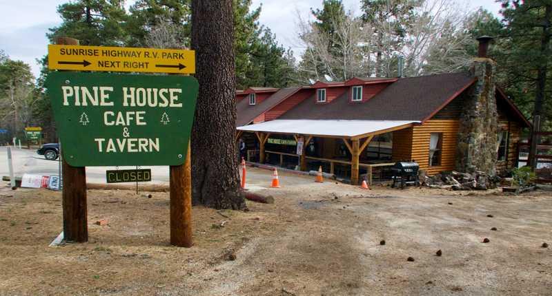 Pine House Cafe, Mt. Laguna