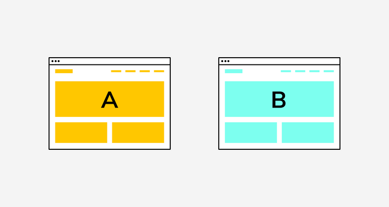 A/B testing is a great supplement to your click maps