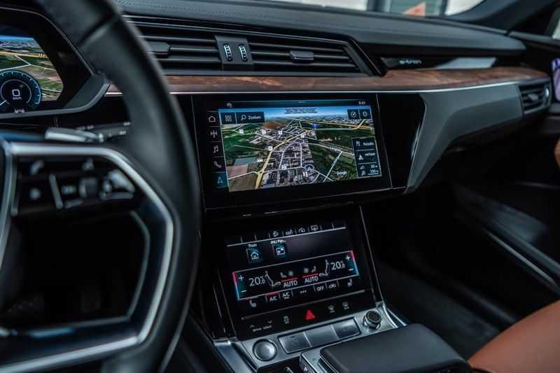 Audi e-tron 55 quattro advanced Pro Line Plus, 408 PK, 4% Bijtelling, Luchtvering, Surround View, Stad/Tour Pakket, B&O, EX. BTW!! afbeelding 6