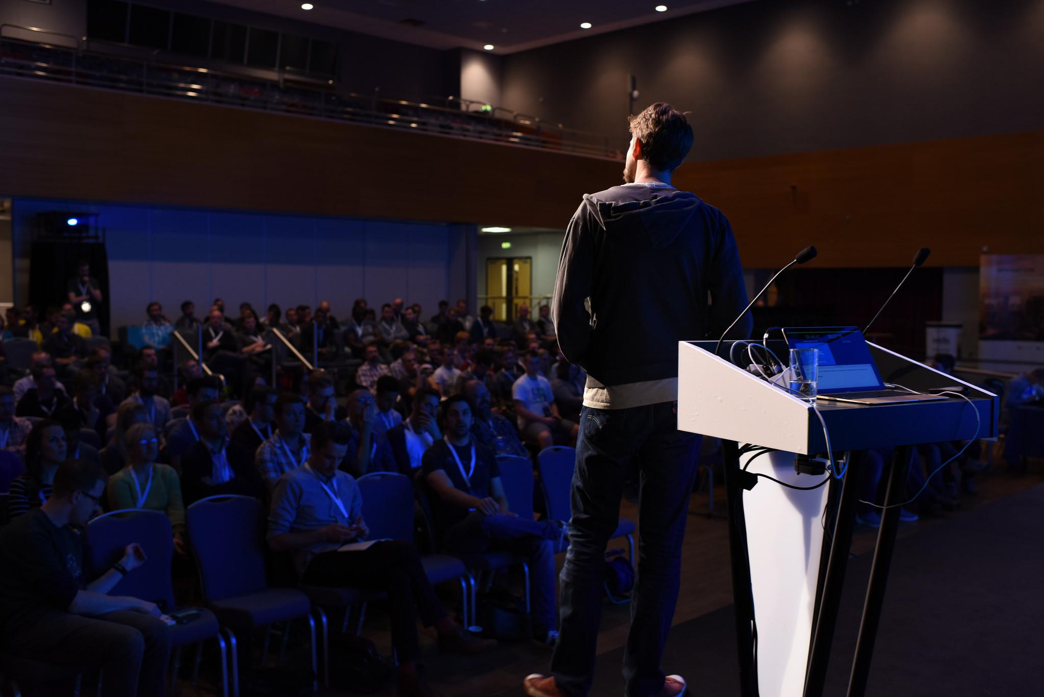 Roo Reynolds speaks at redevelop 2016