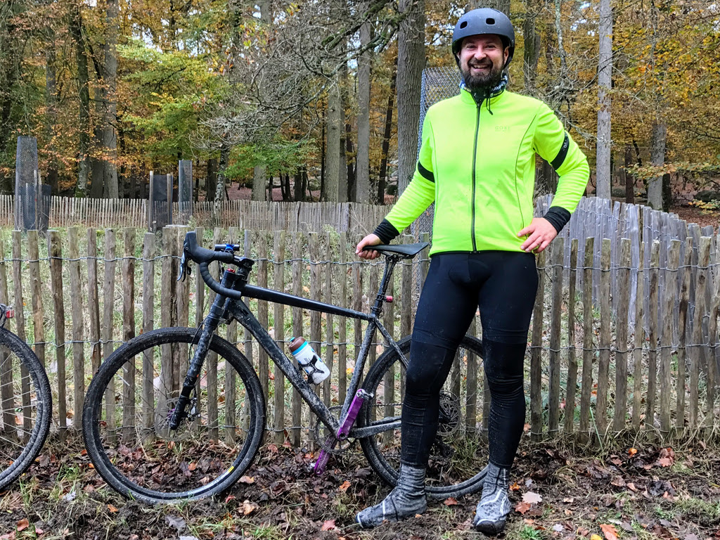 After Gravel Grand Paris, 80km through the forest of Fontainebleau