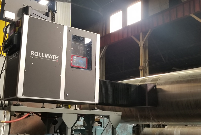Roll inspection with the Rollmate® sensor head