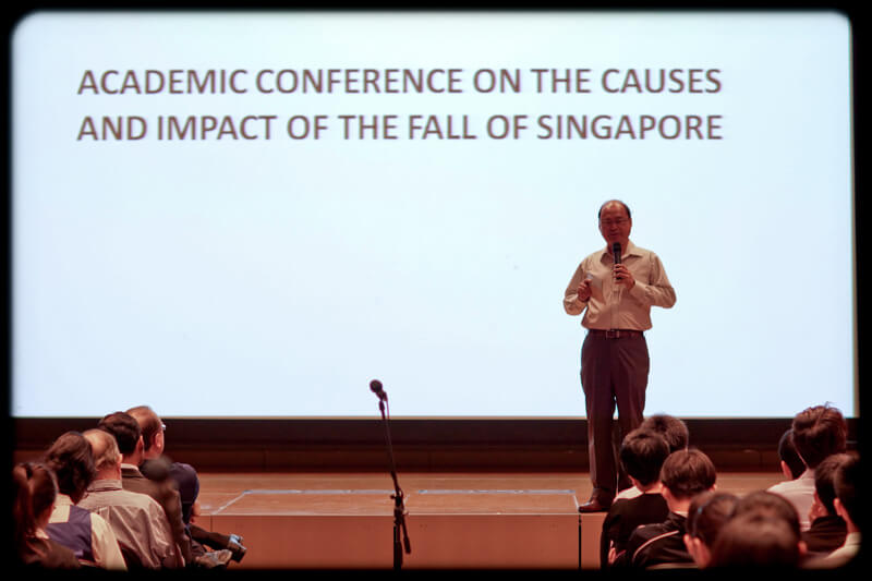 Conference on the Causes and Impact of the Fall of Singapore – 16 February 2012
