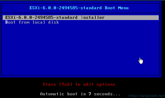 Nested ESXi 6.0 installation - 1