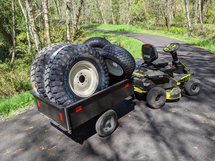 Yanmar Tractor Tires Arrive