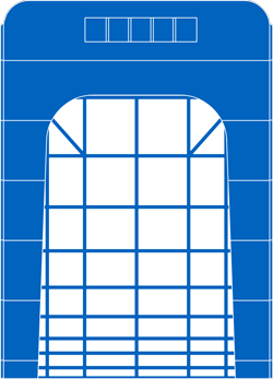 Power gates icon