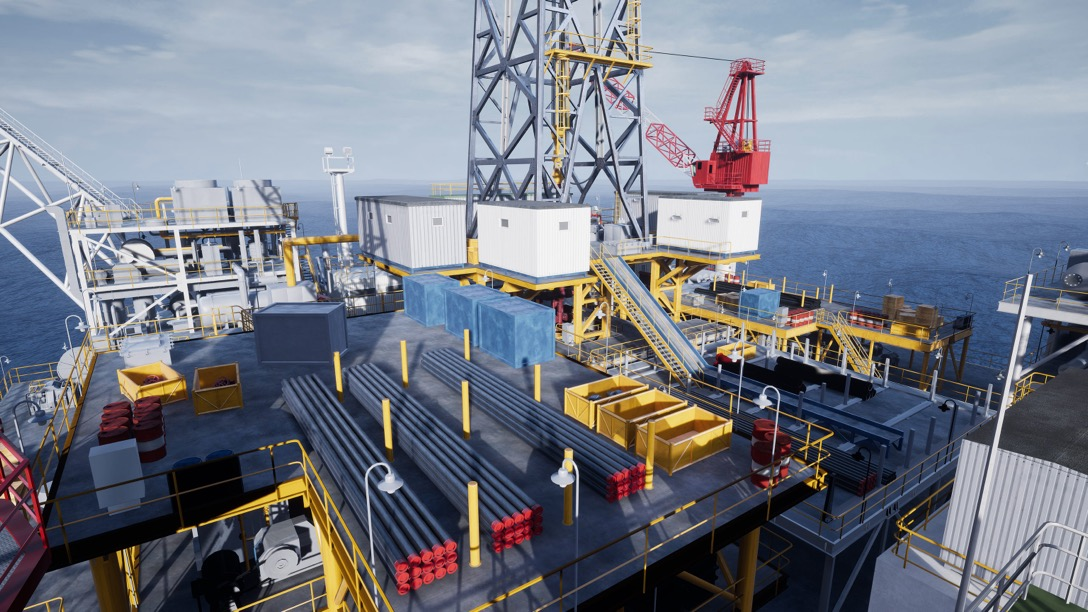 Oil Rig - Health and safety training in virtual reality