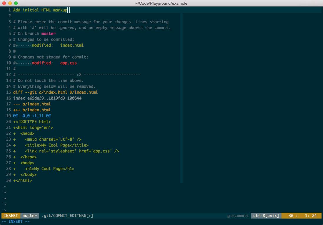 Git Interactive Rebase