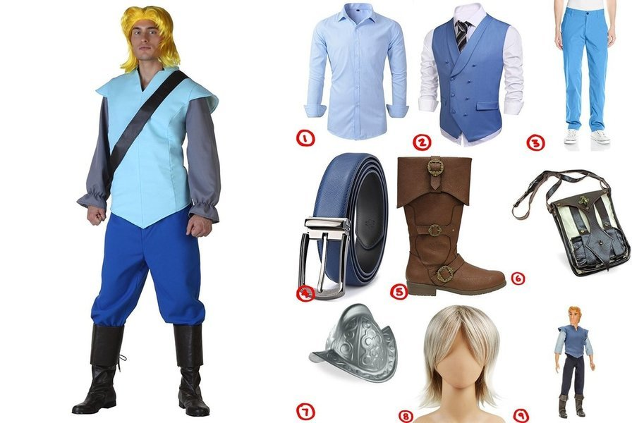 sc 1 st  Costumet & Dress like John Smith from Pocahontas Costume for Cosplay u0026 Halloween