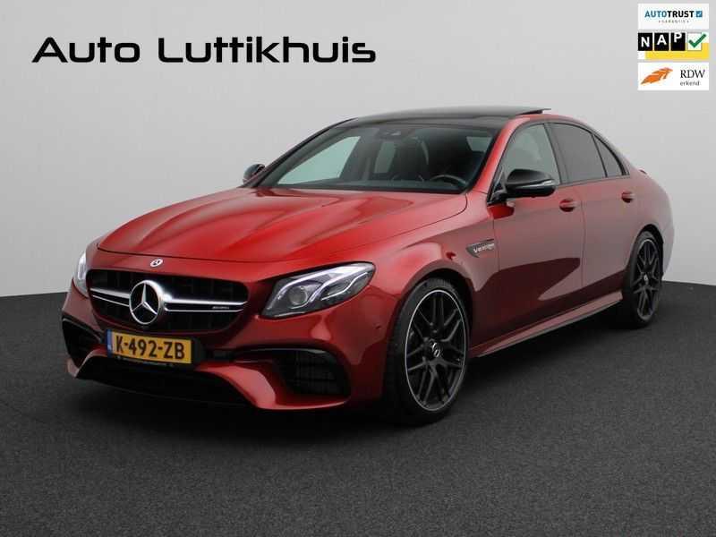 Mercedes-Benz E-Klasse 63 S AMG 4Matic-plus|kuipstoelen|pano|carbon afbeelding 25