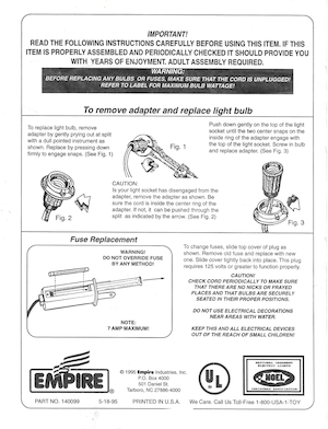 Empire C7 Adapter Assembly Instruction Manual (1995-05-18).pdf preview