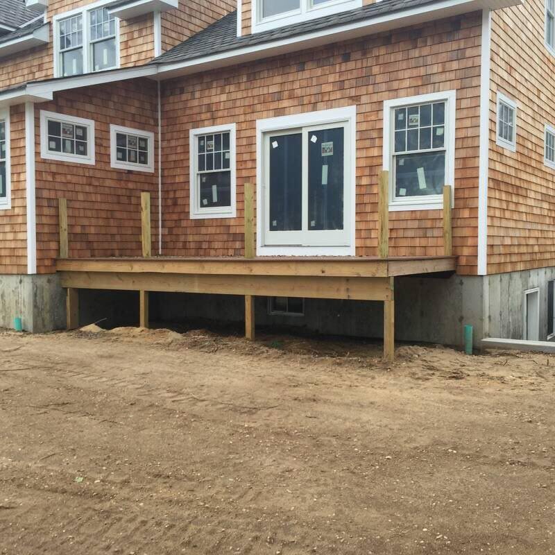 Deck Blakewood Construction 08