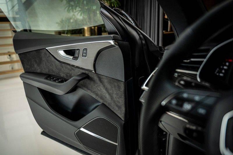Audi SQ8 4.0 TFSI quattro | Bang & Olufsen | HUD | Leder valcona met ruit | Stoel massage | Alcantara | Nachtzicht | PANO | afbeelding 16