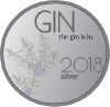2018 Gin Is In Silver award