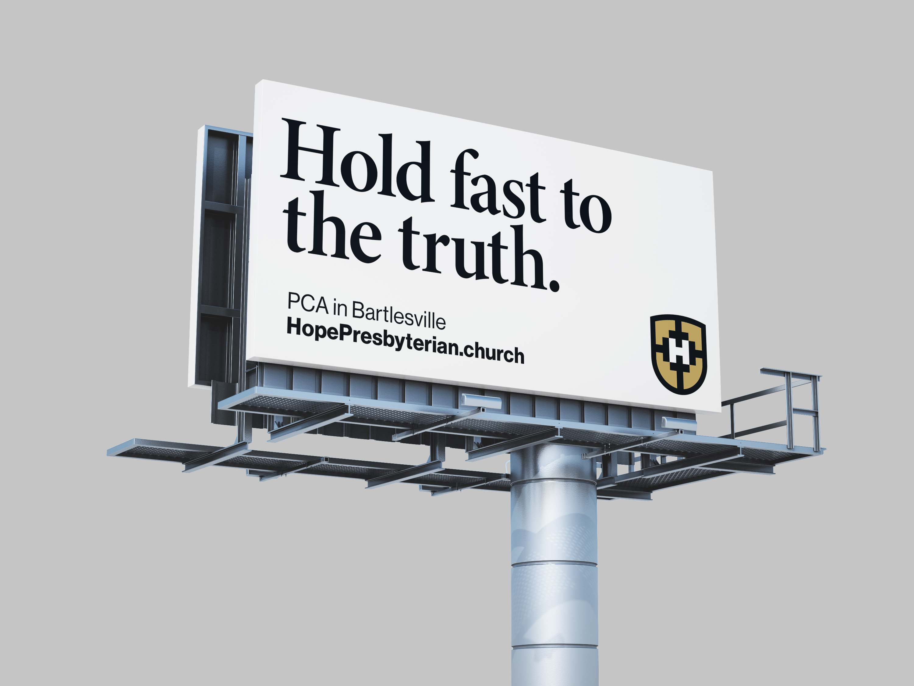 Hold fast to the truth.