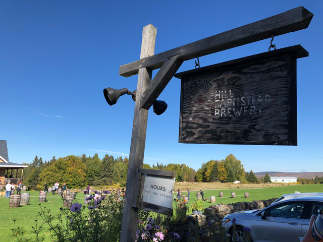 Hill Farmstead Brewery in Greensboro Bend, VT