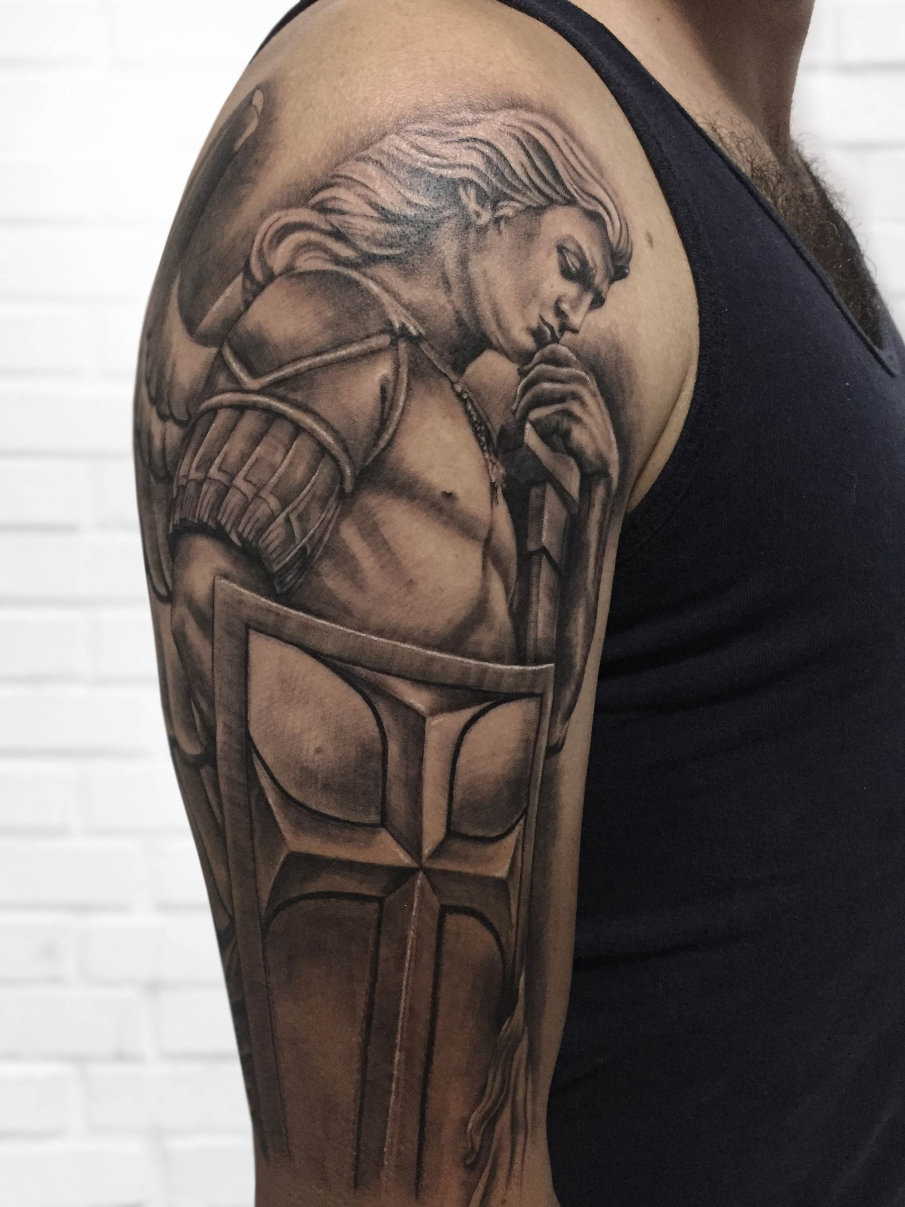 tatuaje guerrero