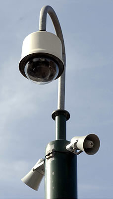 CCTV With Speakers