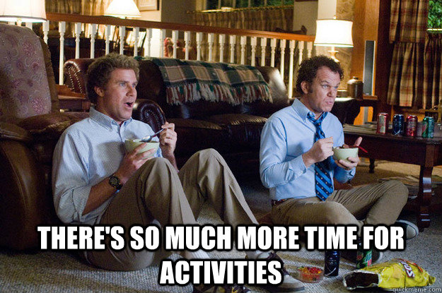 So much time for activities image