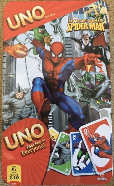 Spider-Man Spider Sense Uno