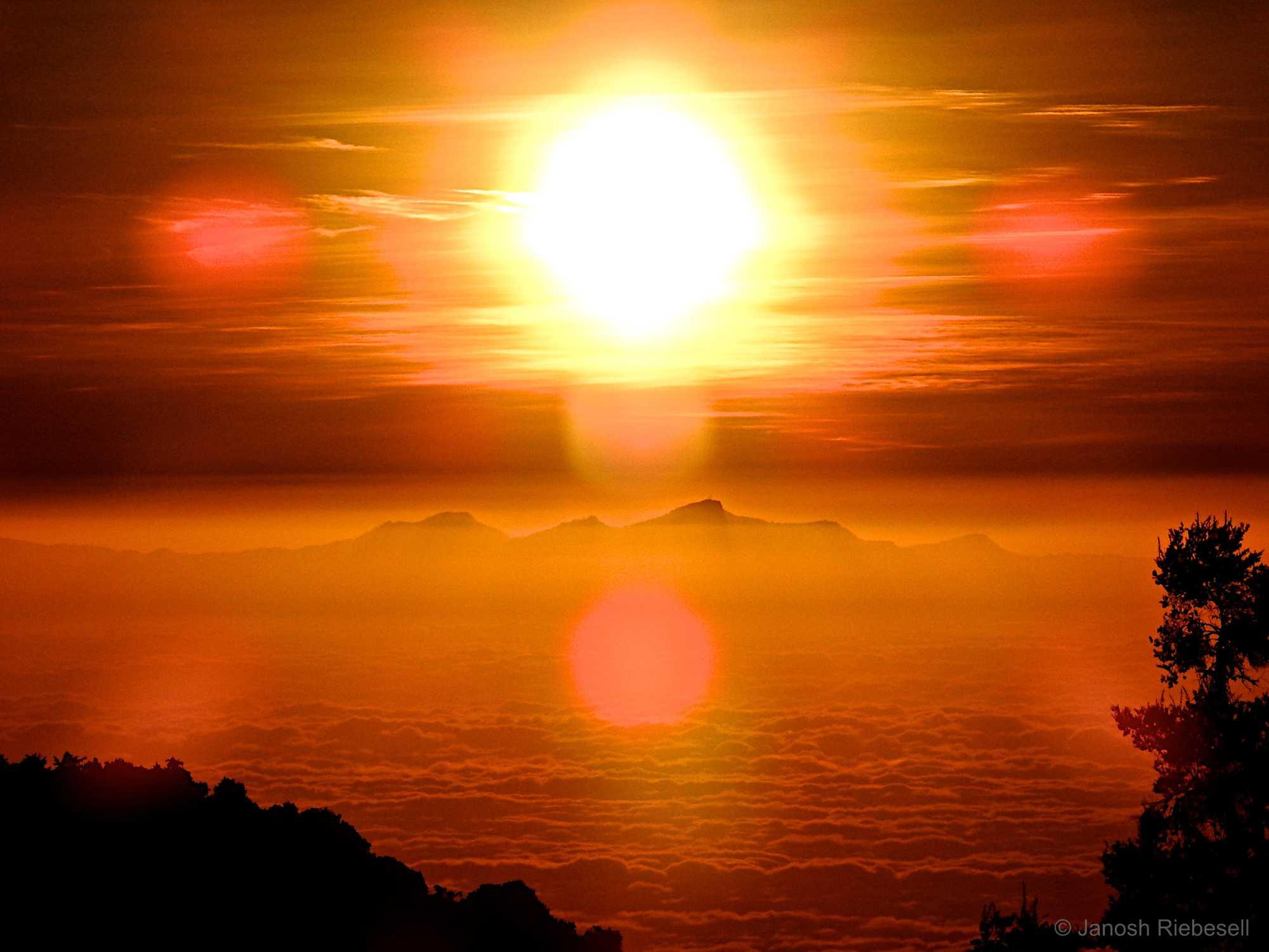 Tanzania Mt Meru Sunset
