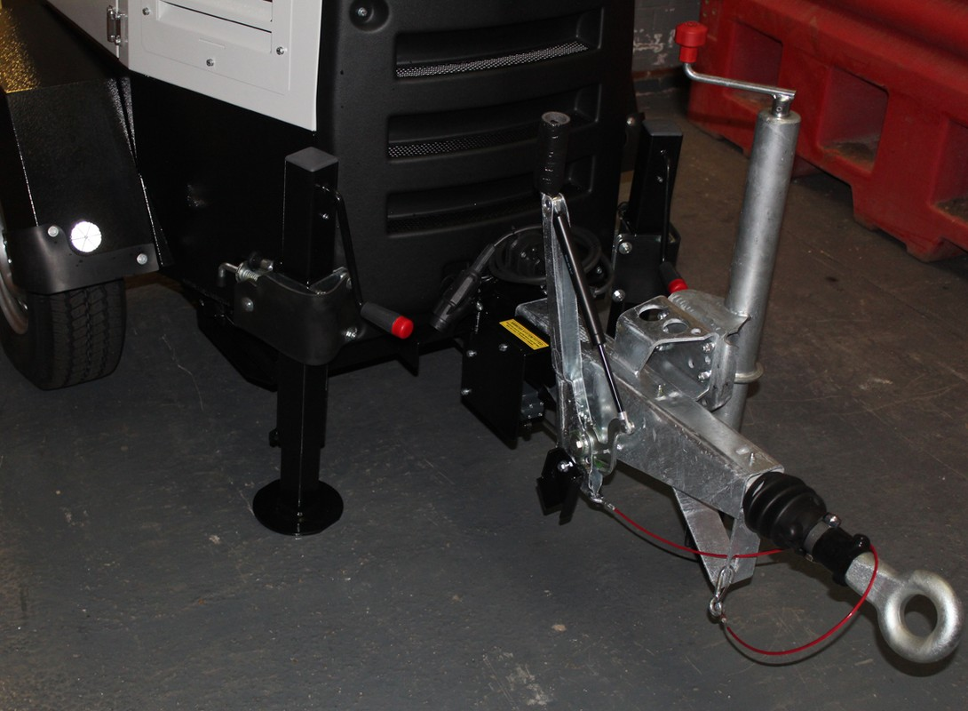Light Tower Tow Bar Connection