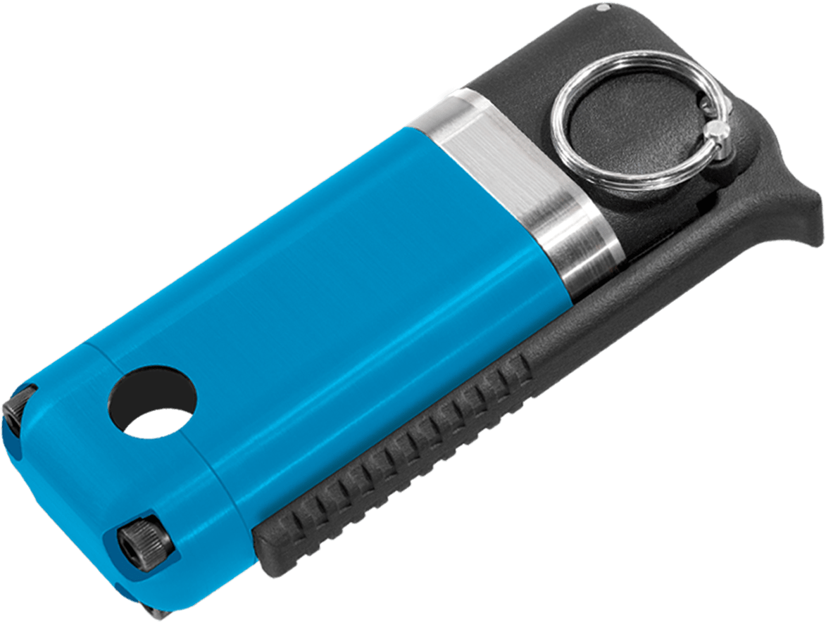Liberty Dynamic Noise Flash Diversionary Device (NFDD) Flashbang Blue Trainer Flashbang