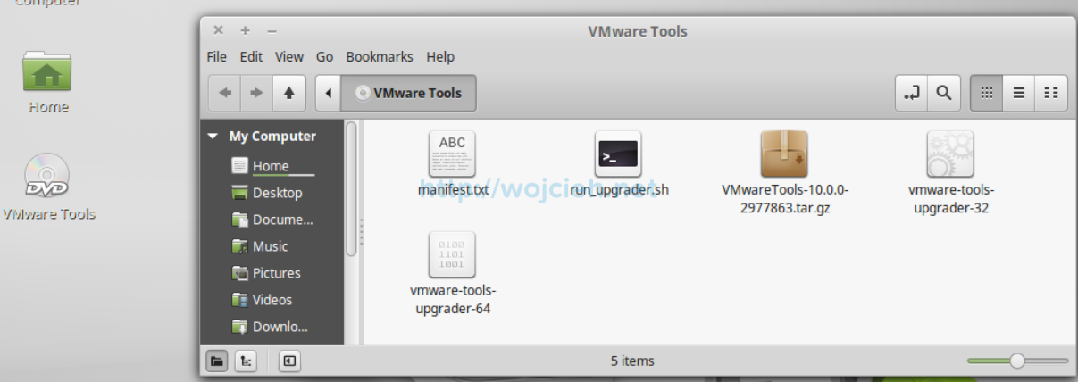 How to install Linux VMware Tools in VMware Fusion 8 - 5