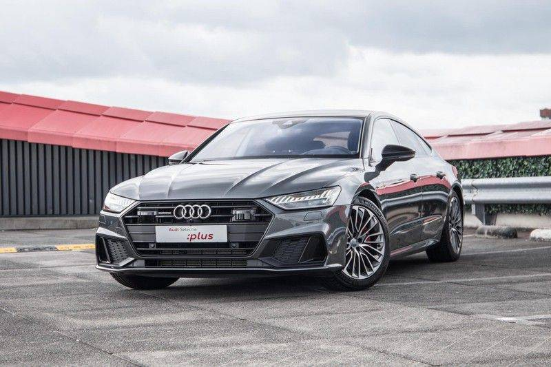 Audi A7 Sportback 55 TFSI e 367 pk Quattro Competition | Verlengde garantie | 2 x S-Line | Nachtzicht-assistent | panorama dak | Head-up display | Trekhaak | 360 camera | Stoelverwarming vóór en achter | afbeelding 2