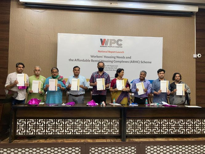 LAUNCHING OF THE REPORT 'WORKERS HOUSING NEEDS AND THE AFFORDABLE RENTAL HOUSING COMPLEXES SCHEME (ARHC)'