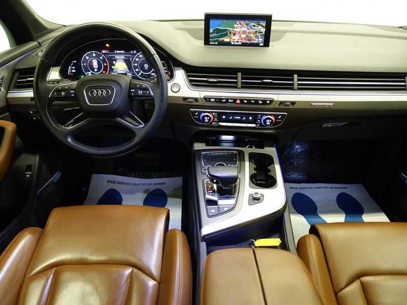 Audi Q7 3.0 TDI e-tron 374pk Quattro [S-Line] Aut- Leer, Virtual Cockpit, 360 Camera, Xenon afbeelding 8