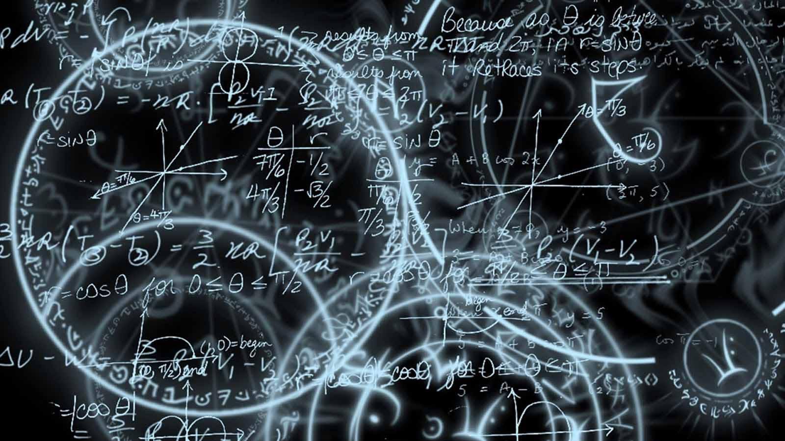Imagem de várias fórmulas matemáticas