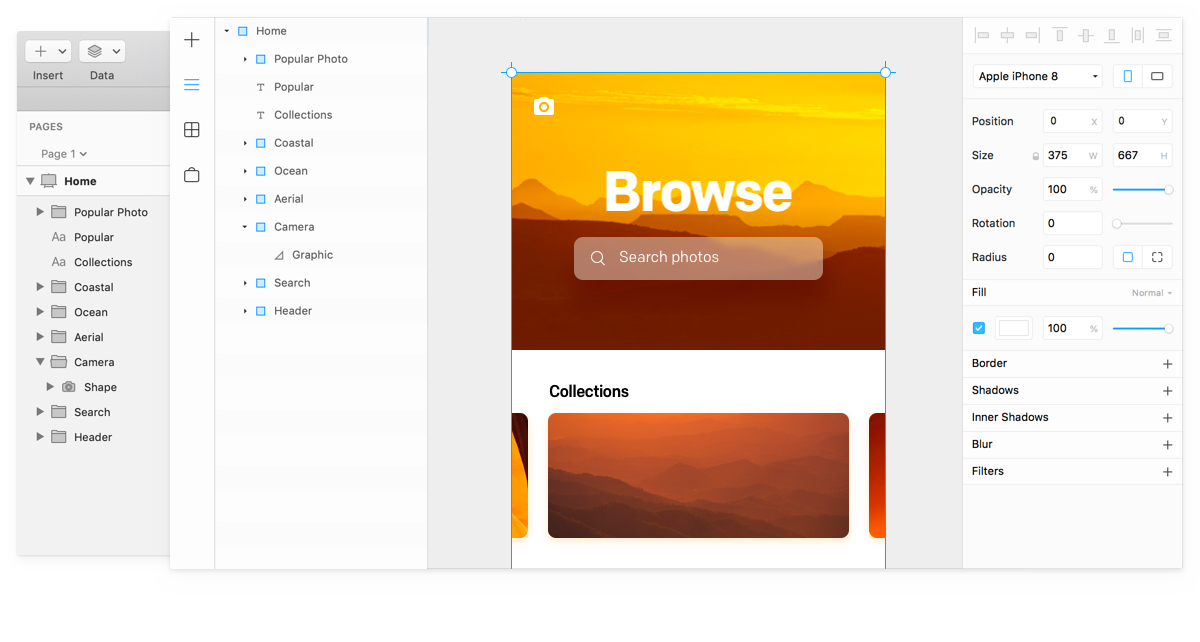 framer sketch window