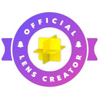 Snapchat Official Lens Creator Badge