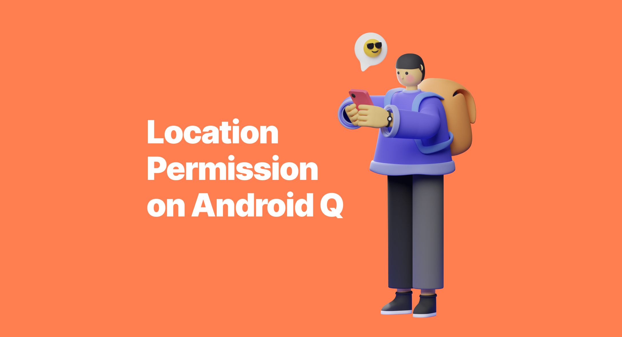 Get Location Permission on Android Q