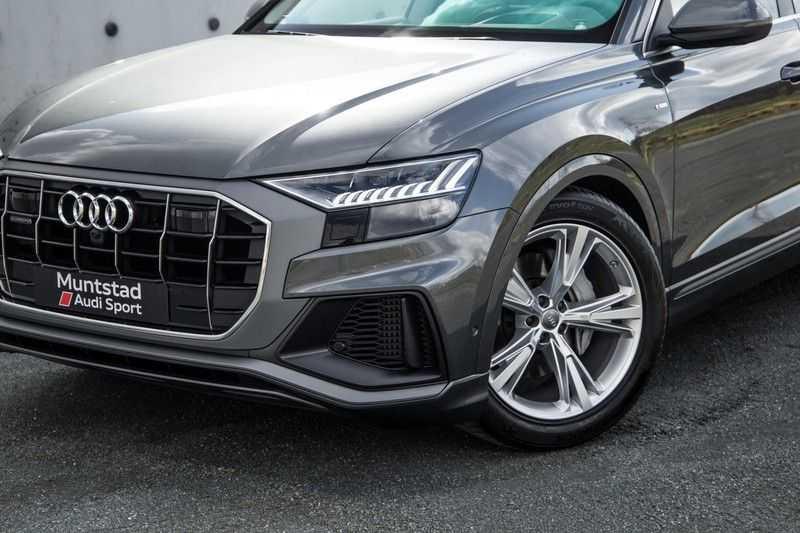 Audi Q8 55 TFSI quattro 340PK | Pano.dak | S-Line | 360 Camera | Adapt.cruise | Head-Up | B&O Advanced Sound | Massage/ventilatie/verwarmde Stoelen | Matrix LED | Full option | afbeelding 8