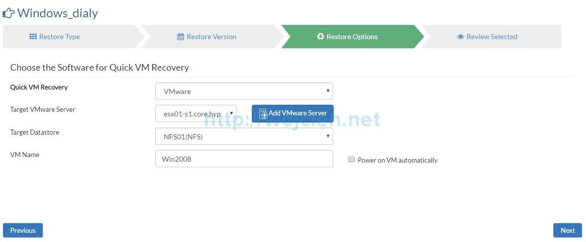 Vembu BDR Suite Review - 19